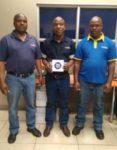 Amos Vanqa, Julius Kwenaite and Dennis Sithole